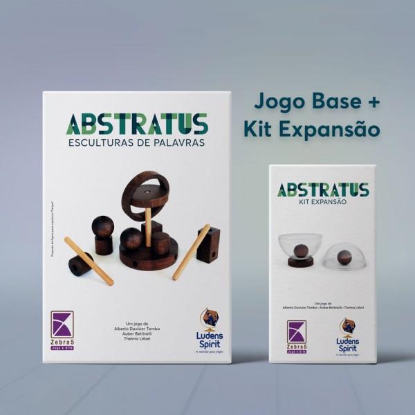 ABSTRATUS - VERSÃO IMBUIA - JOGO BASE + EXPANSÃO