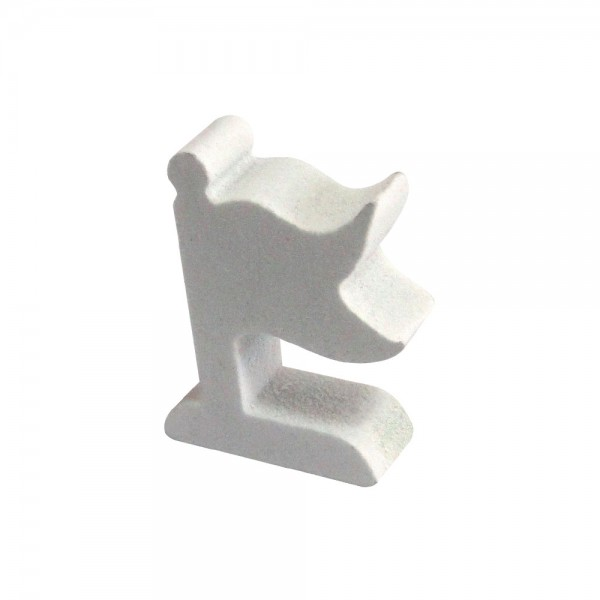 BANDEIRA (MOD.2) BRANCA - 20x15x6